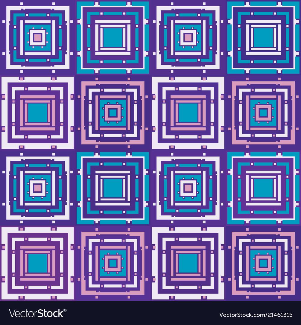 Purple mosaic pattern