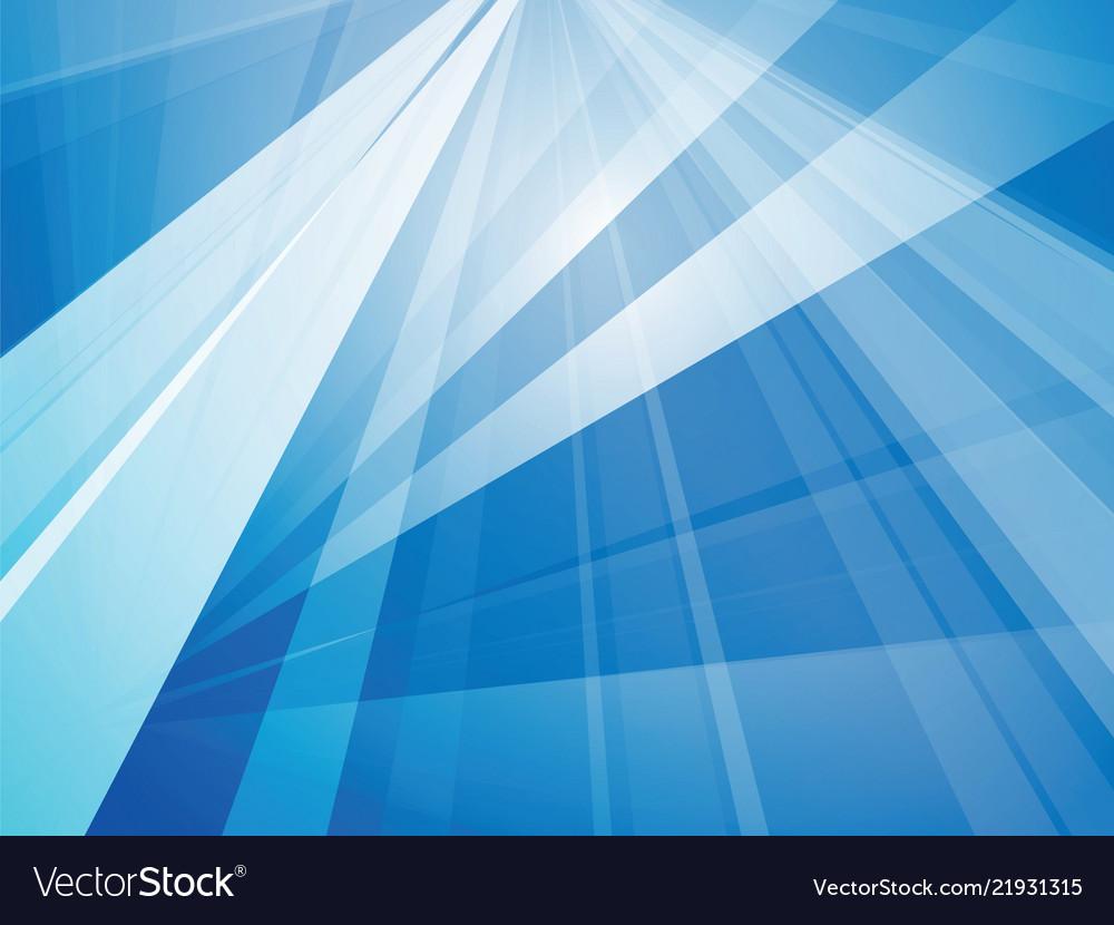Trendy blue geometric background