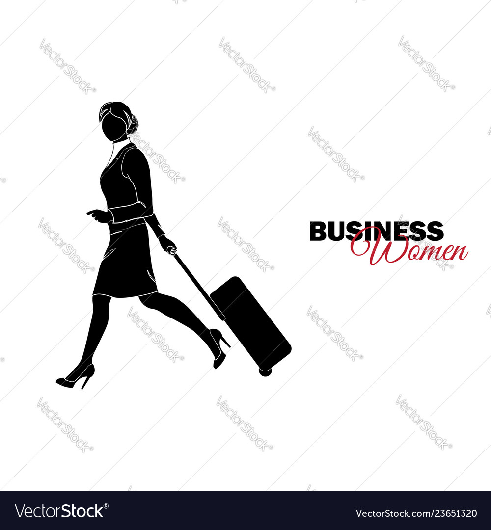 Businesswoman woman in business suit