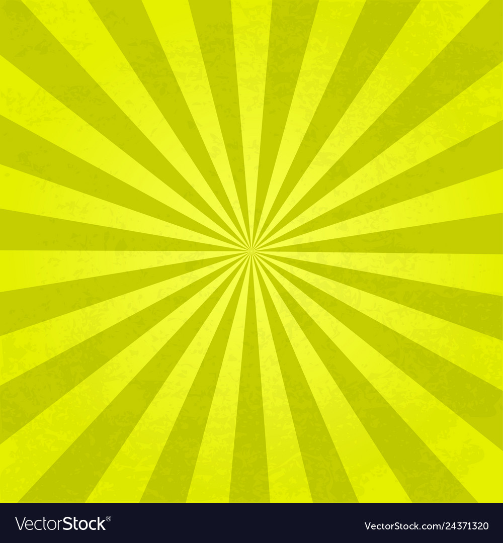 Rays background yellow