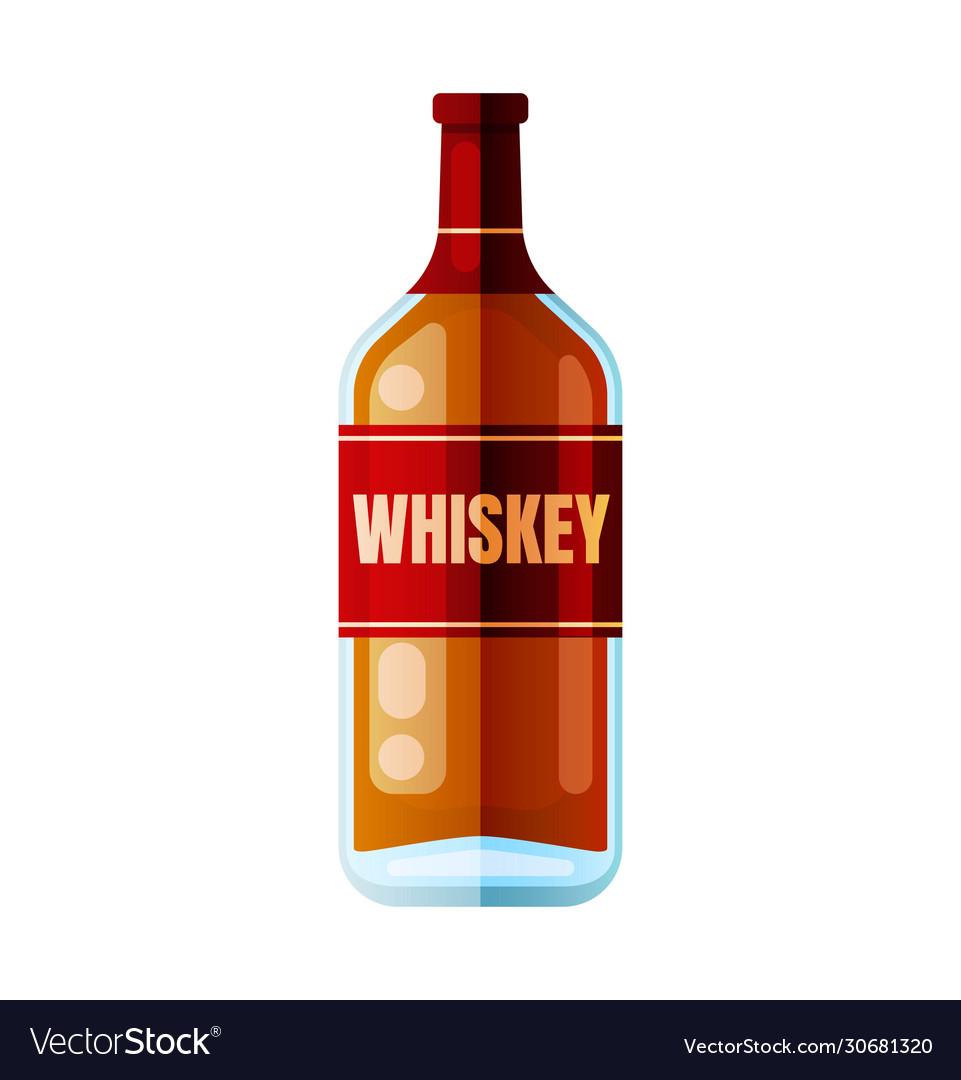 Whiskey bottle alcohol drink party toast symbol