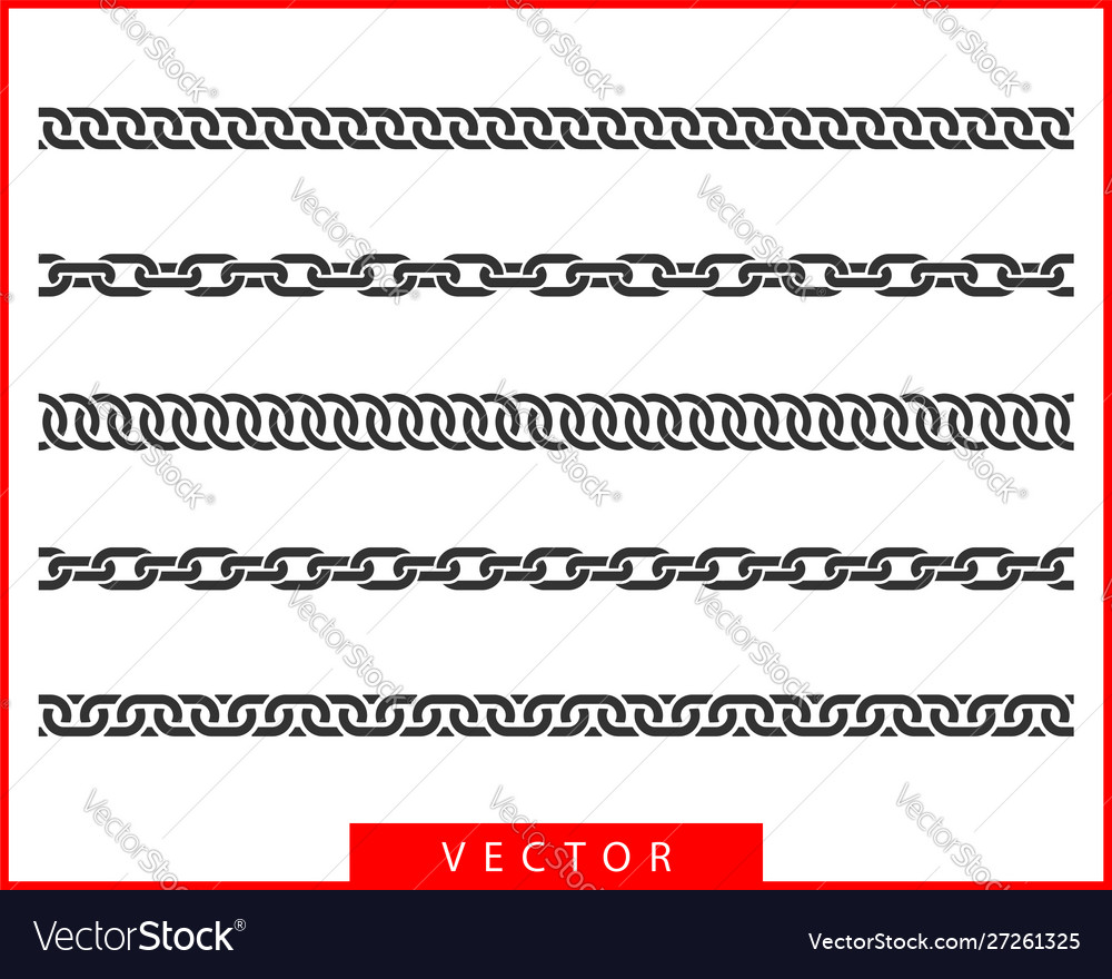 Set seamless chain link different chains