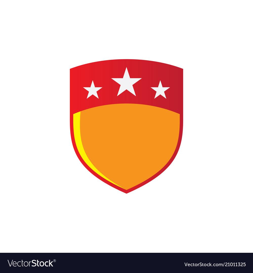 Shield star business technology logo