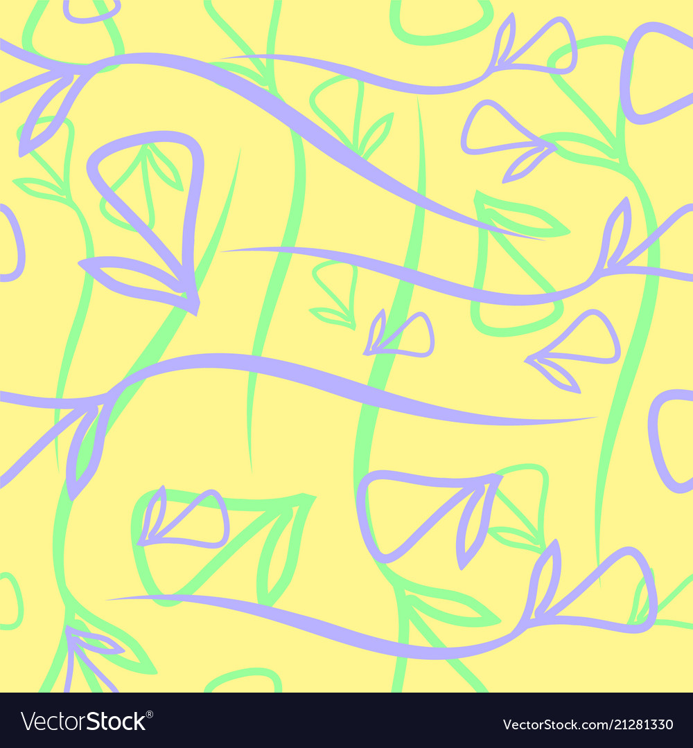 Geometric pastel pattern made from plant blue and