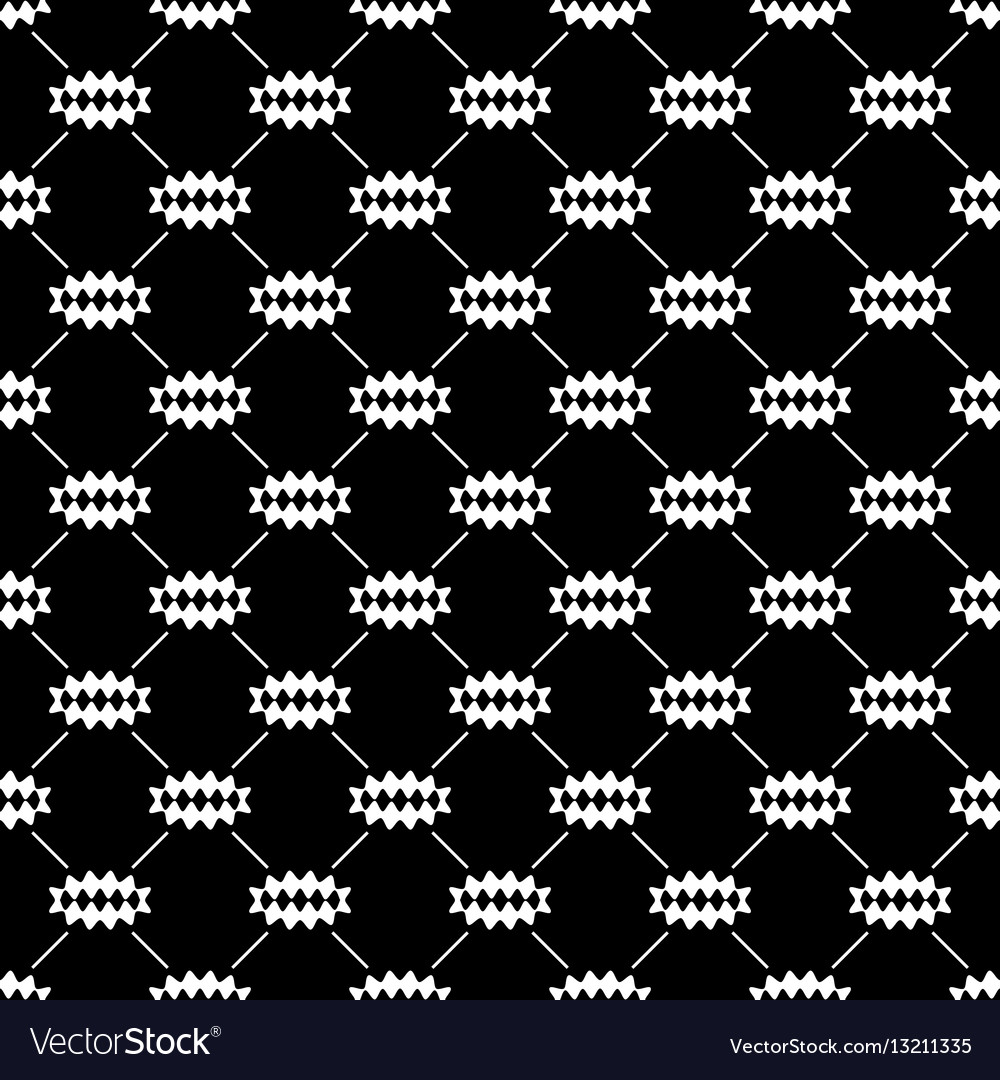 Oval of rhombuses line seamless pattern 701
