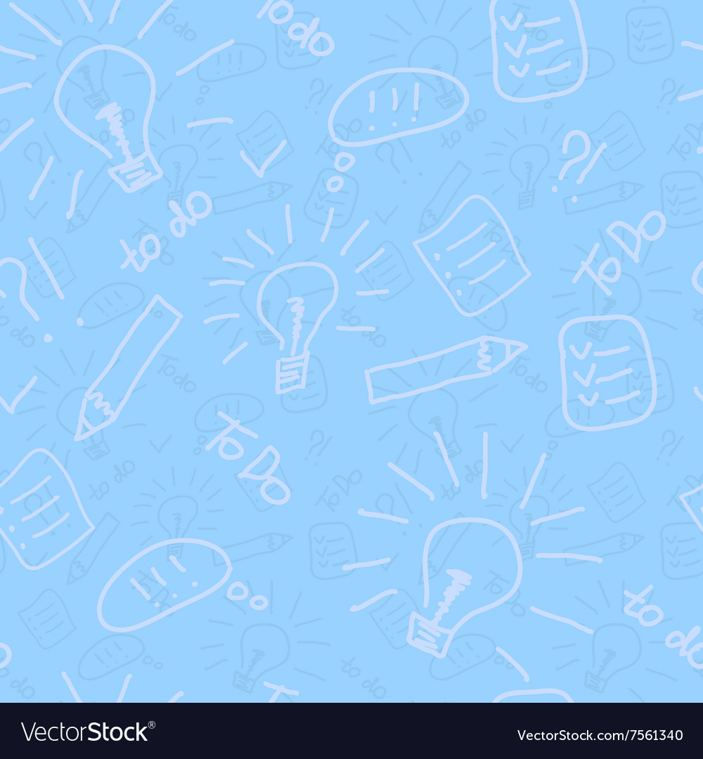 todo list seamless pattern universal background vector image