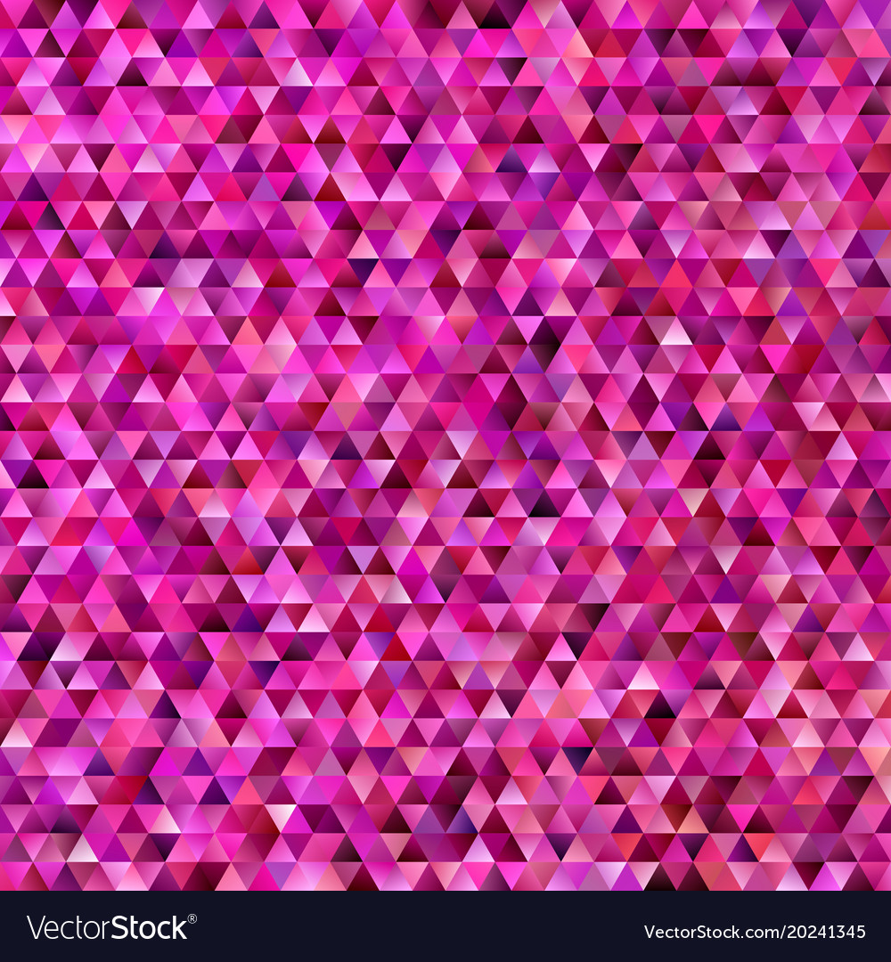 Geometrical abstract triangle mosaic background vector image