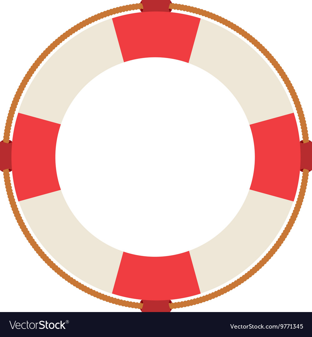 6f3c0895d72 Lifeguard float isolated icon design Royalty Free Vector