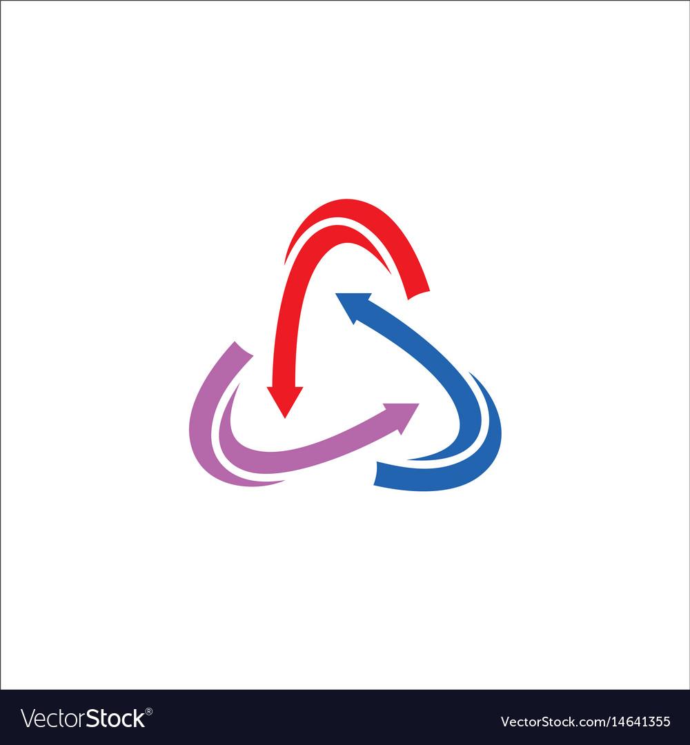 circle arrow logo - Parfu kaptanband co
