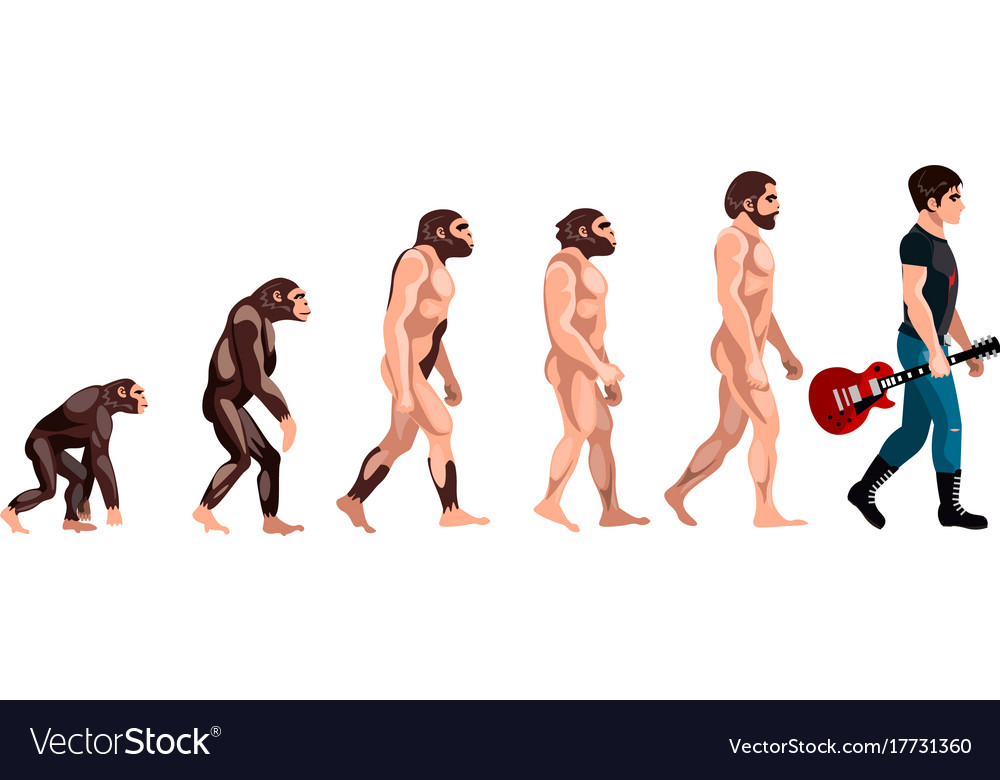 Evolution from monkey to musician