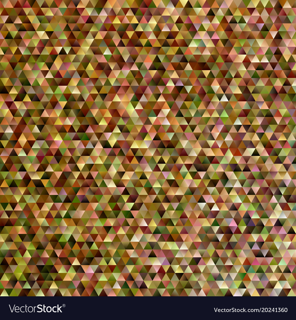 Geometric abstract regular triangle mosaic vector image