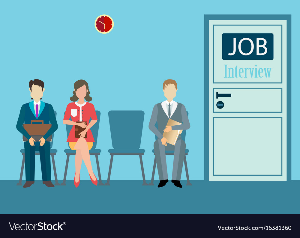 Job interview conceptual