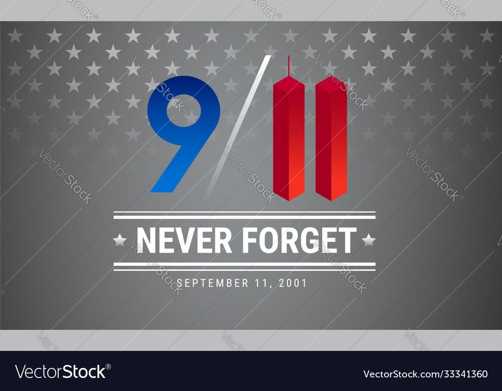 Patriot day poster september 11 9 11 memorial