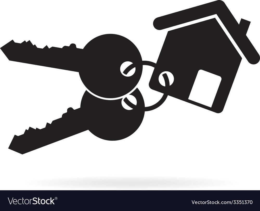 house keys royalty free vector image vectorstock rh vectorstock com key vector graphic key vector clip art free