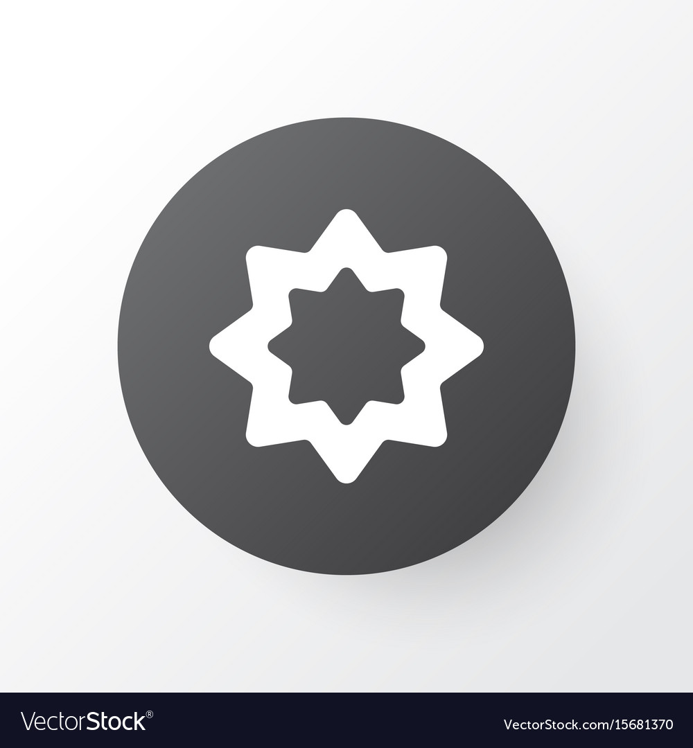 Rub el hizb icon symbol premium quality isolated
