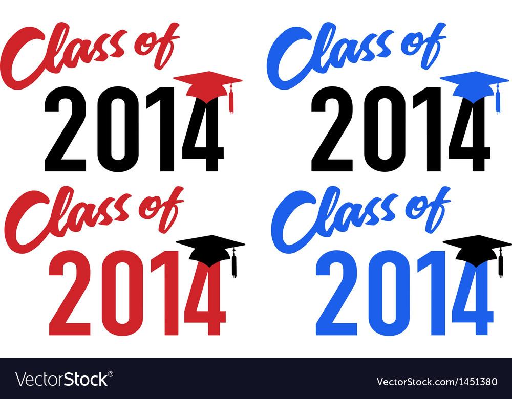 Class of 2014 school graduation cap