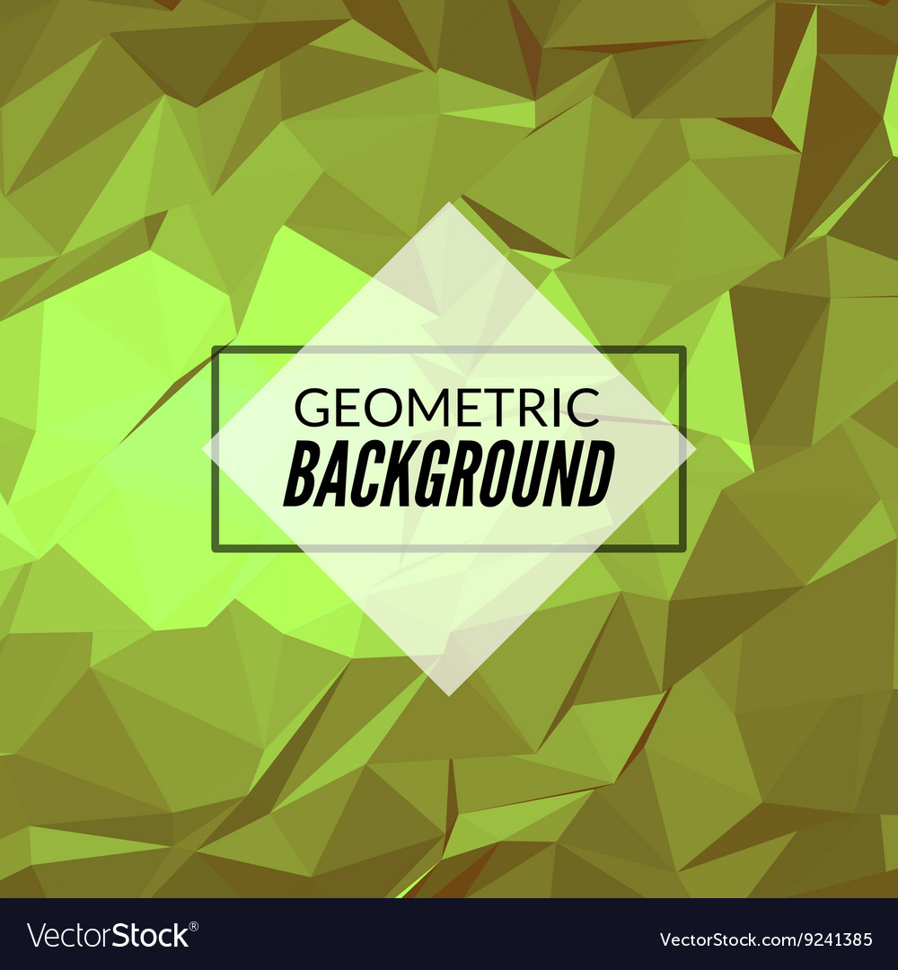 Abstract geometric polygonal background