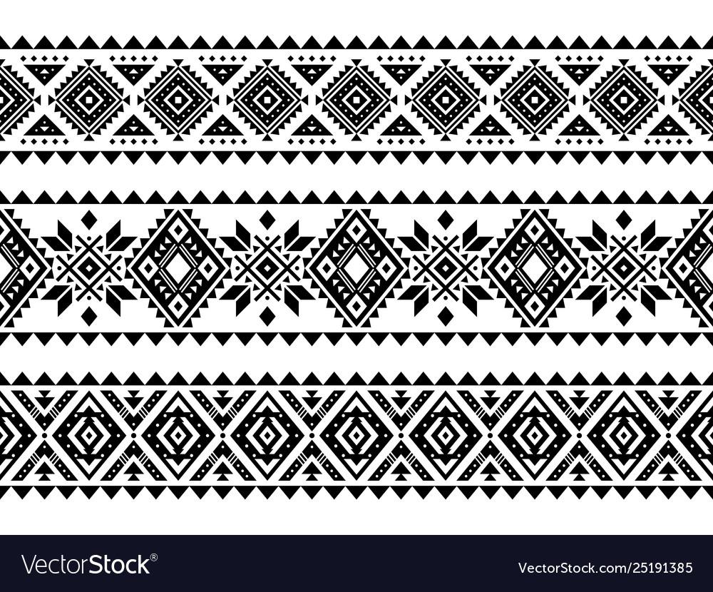 Aztec style ornament