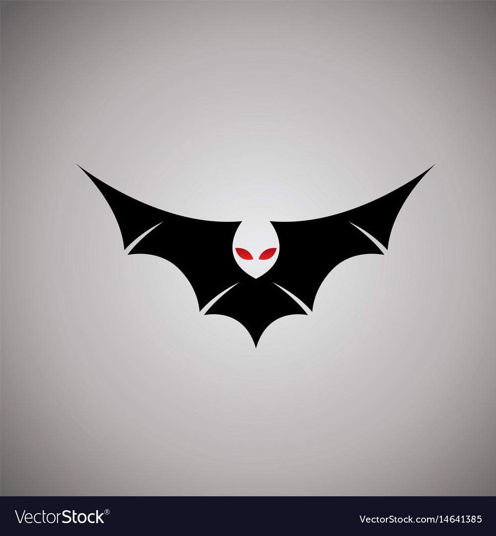 Bat Logo Ideas Design Vector Image