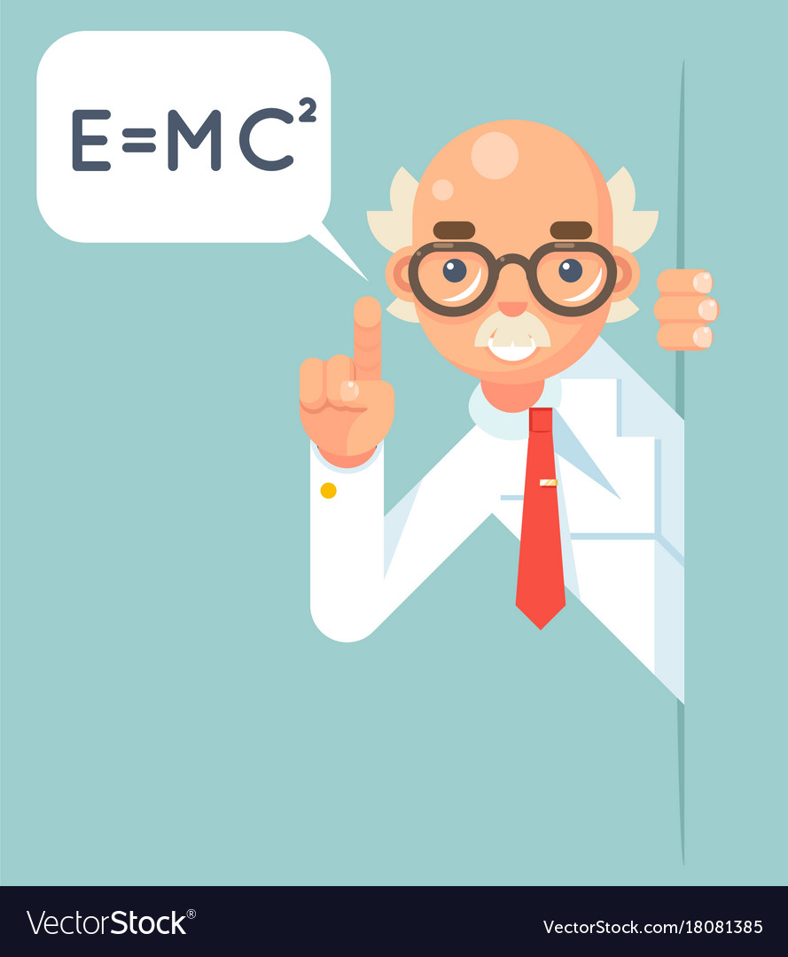 Consultant Scientist Education Support Help Vector Image
