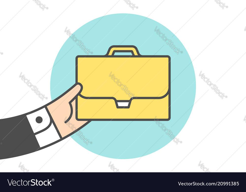Icon of briefcase