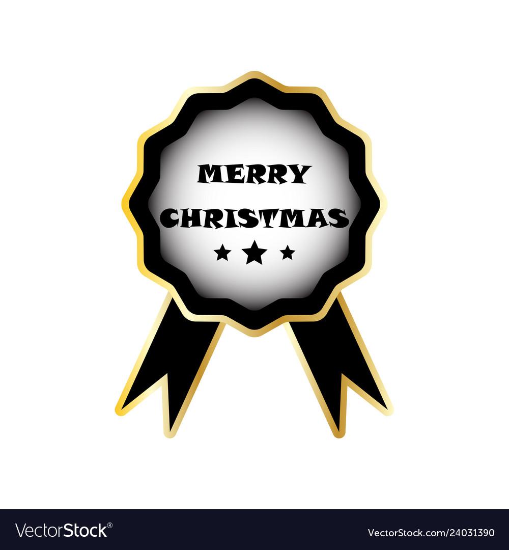 Christmas badge image