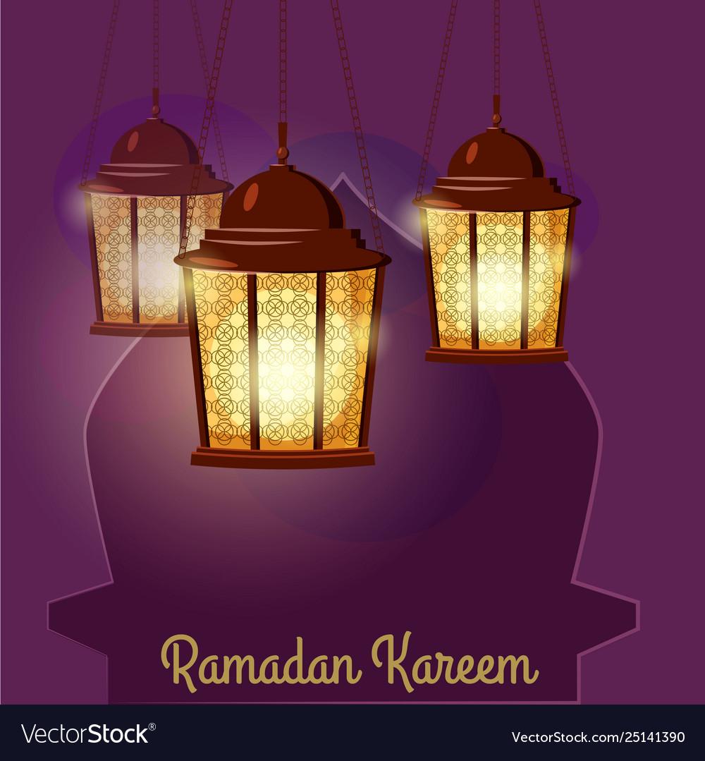 Ramadan kareem holiday islam with