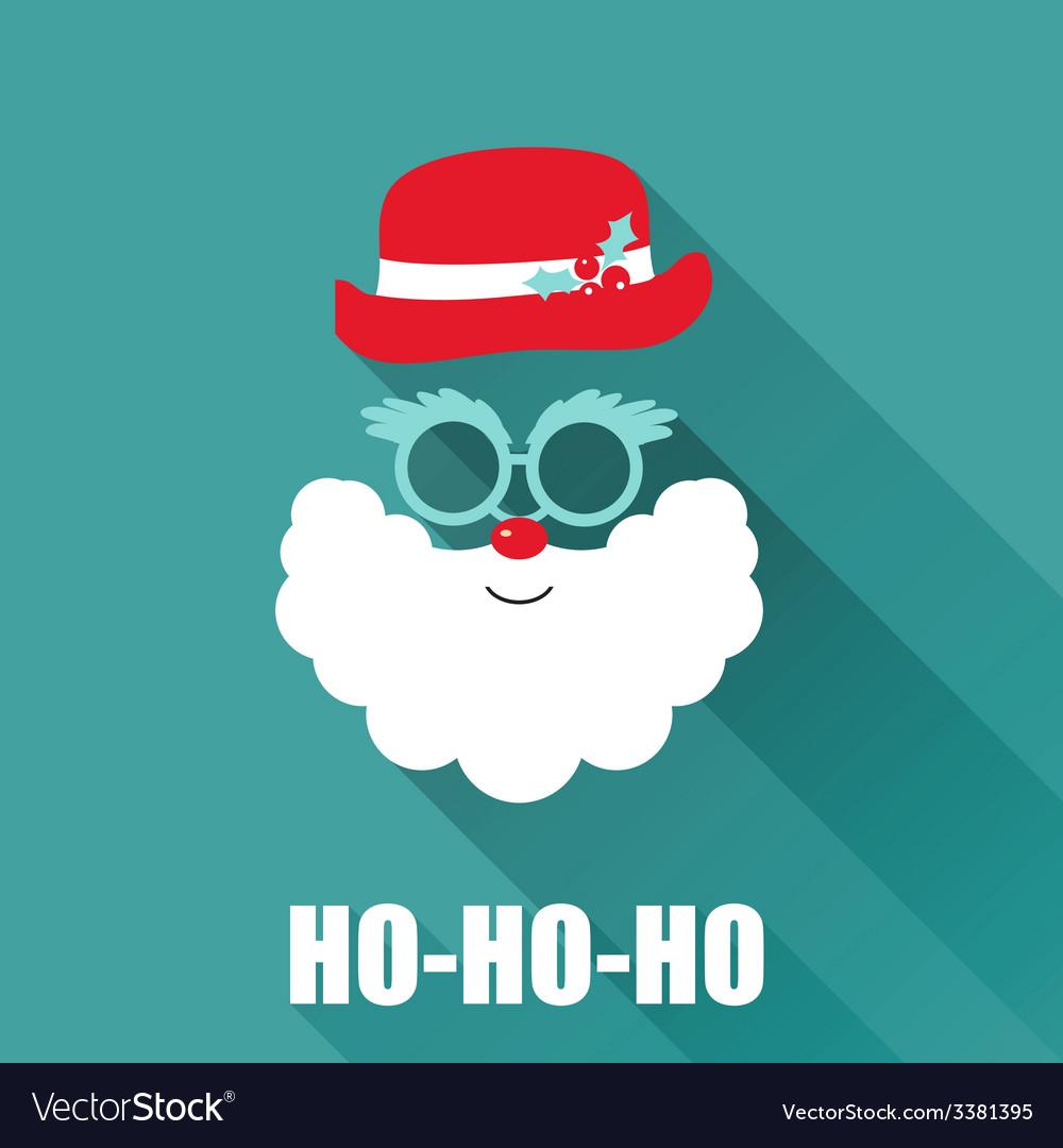 Christmas Retro Santa Card