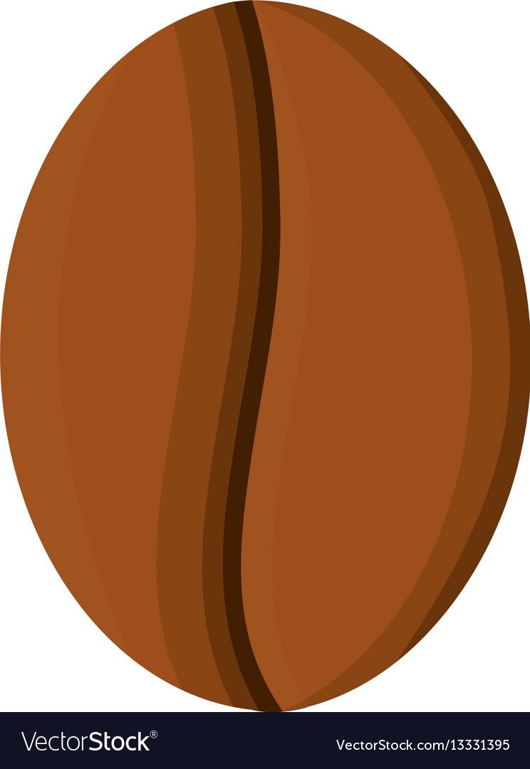 Coffee bean aroma icon vector image