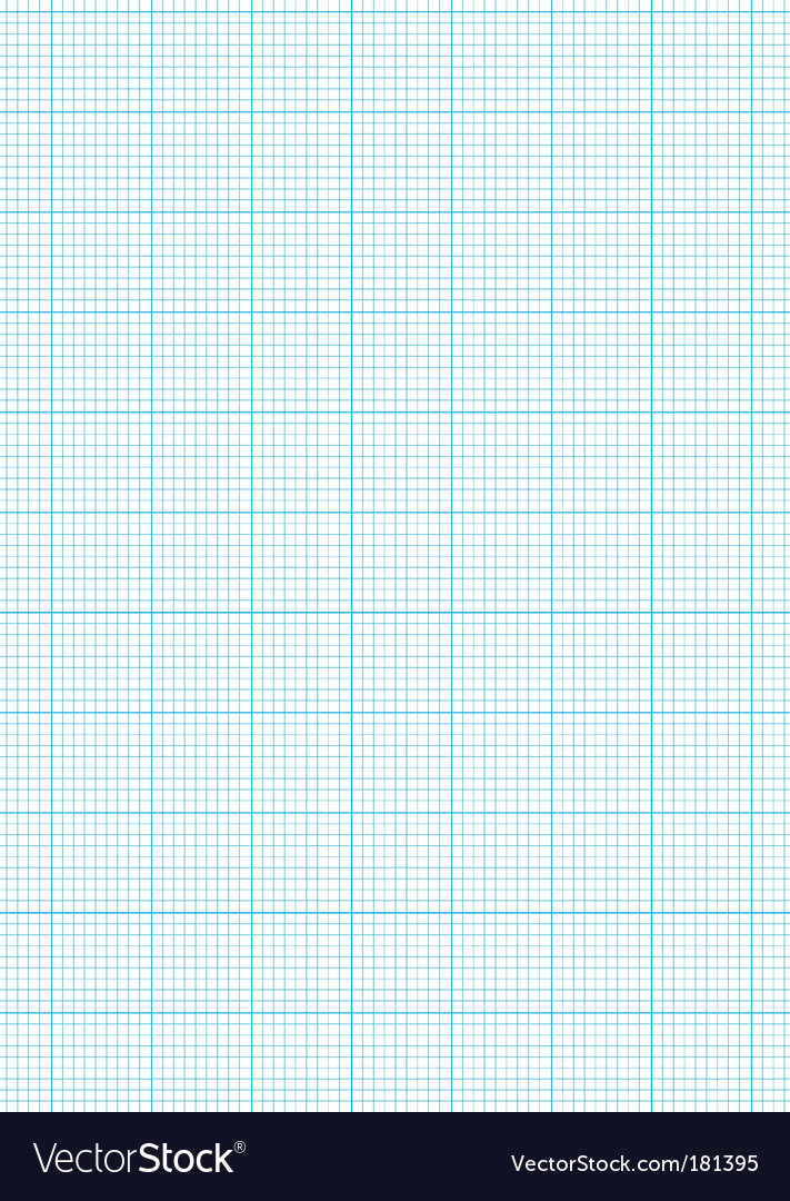 Graph paper a4 sheet vector image