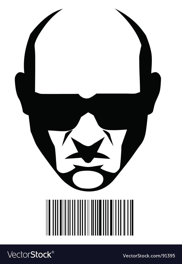 Hitman vector image
