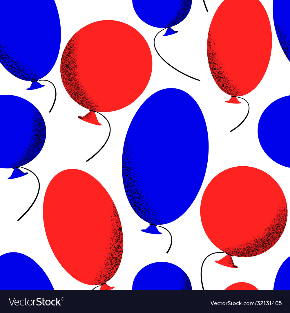 America independent day seamless pattern festive