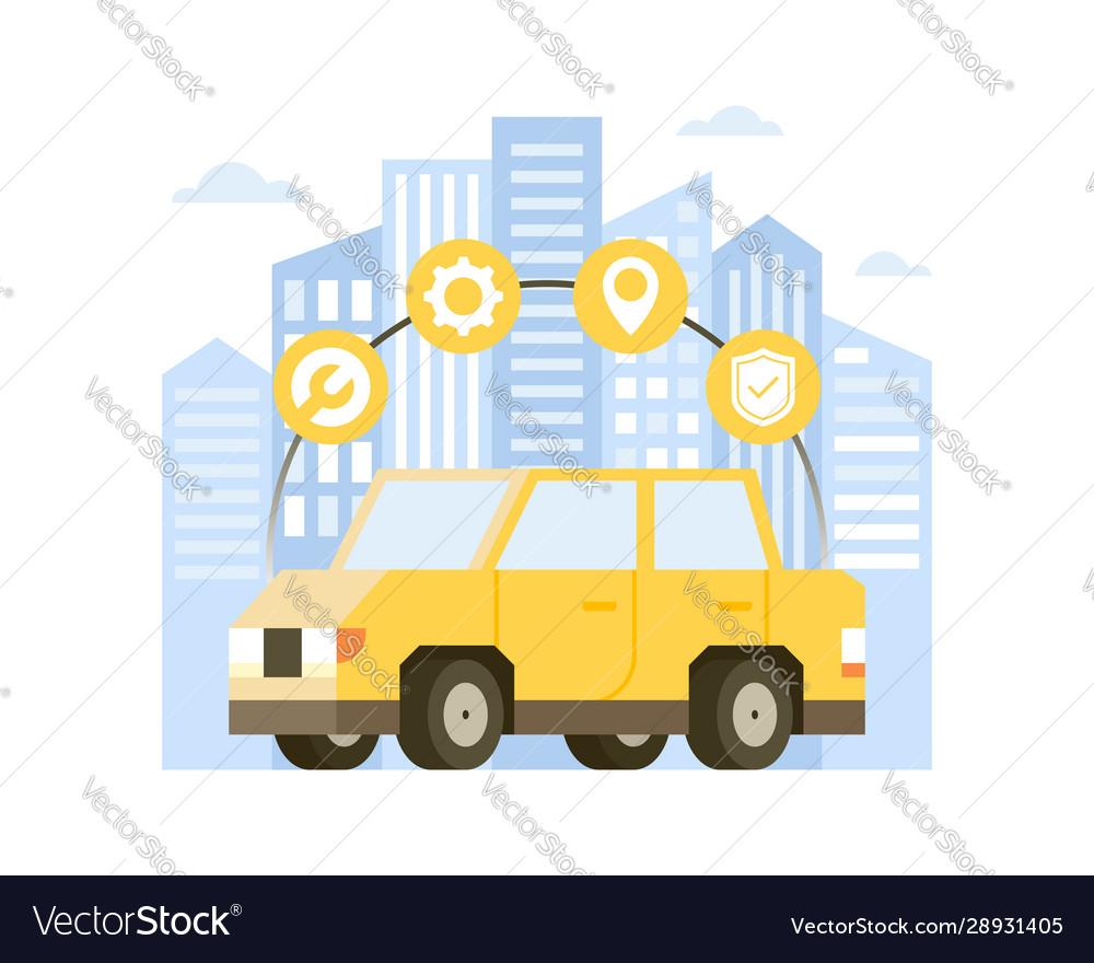 Concept online car service