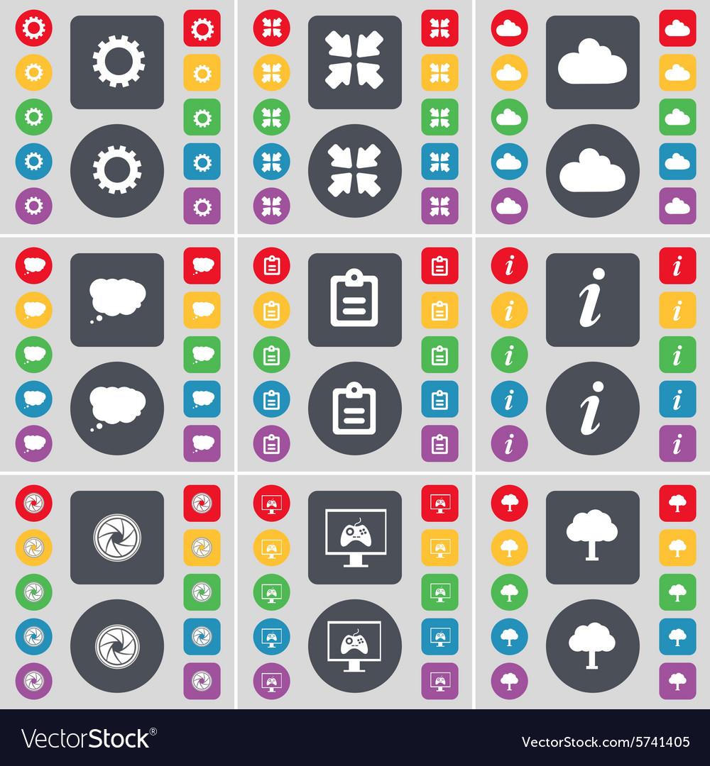 Gear Deploying screen Cloud Chat cloud Survey