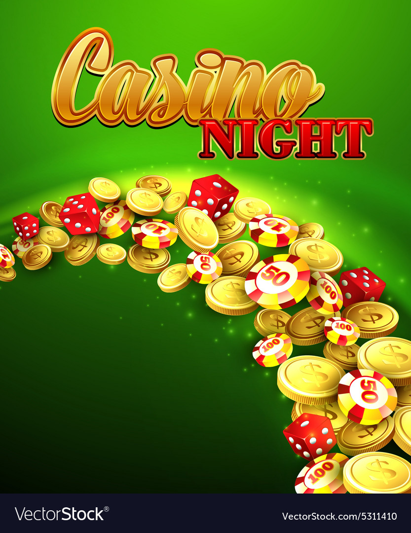 Casino night with roulette