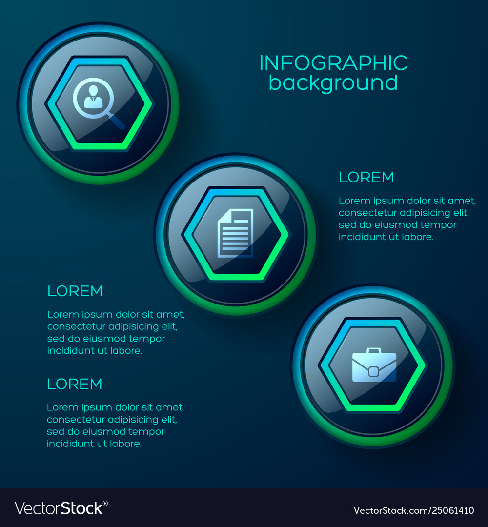 Web abstract infographic concept