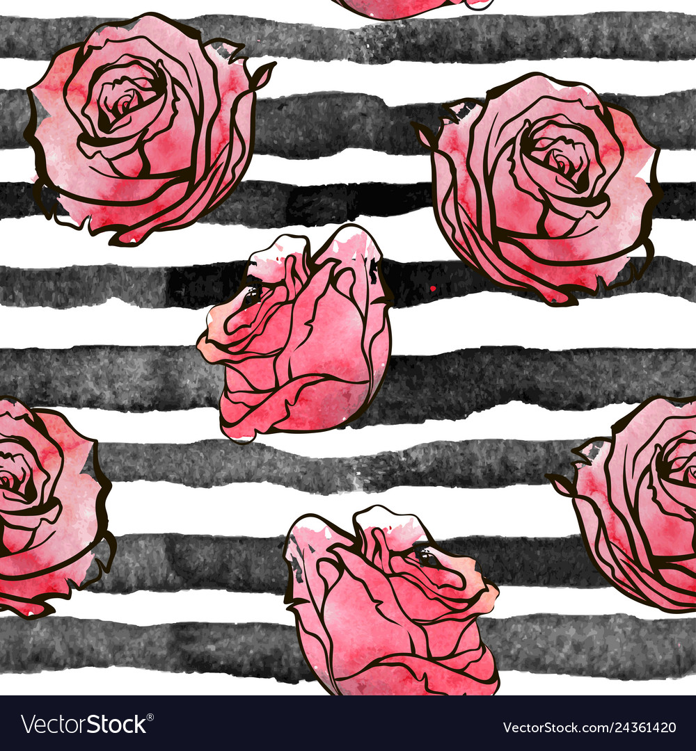Beautiful seamless background roses flowers