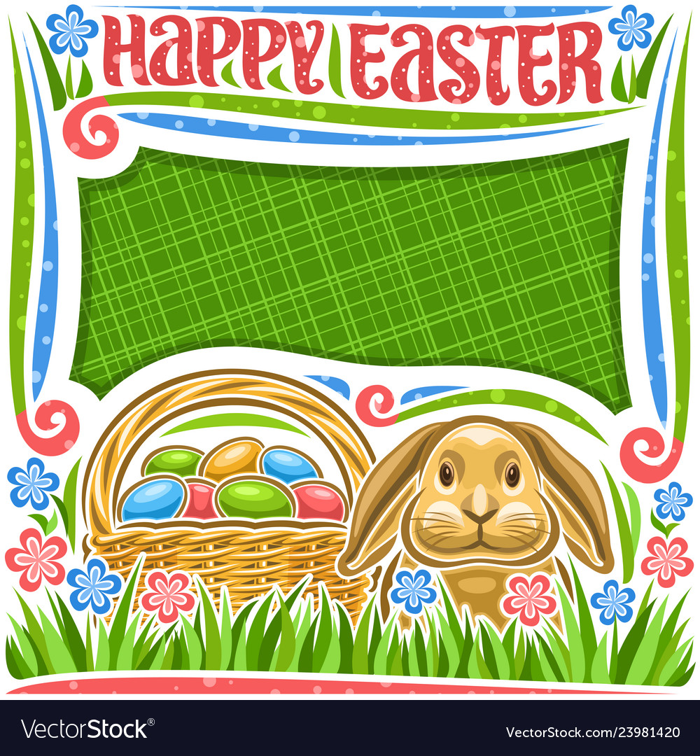 Poster for easter holiday