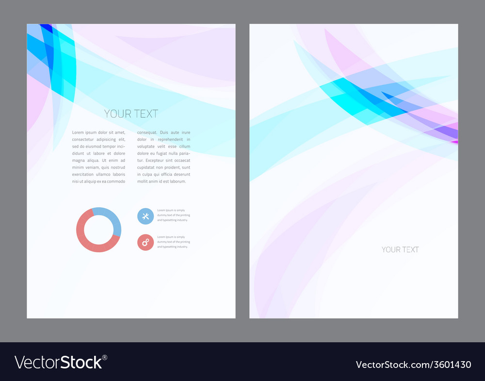 Abstract artistic soft light wave vector image