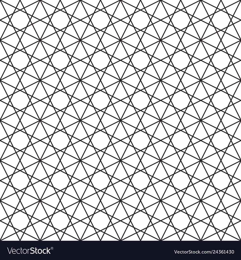 Seamless linear geometric background