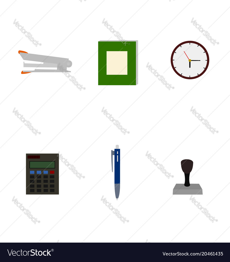 Isolated business tools flat icon