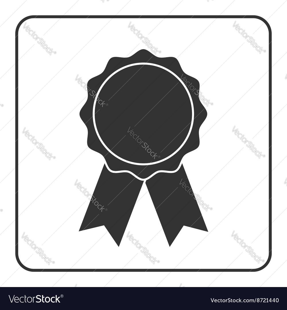 Award medal icon gray 2