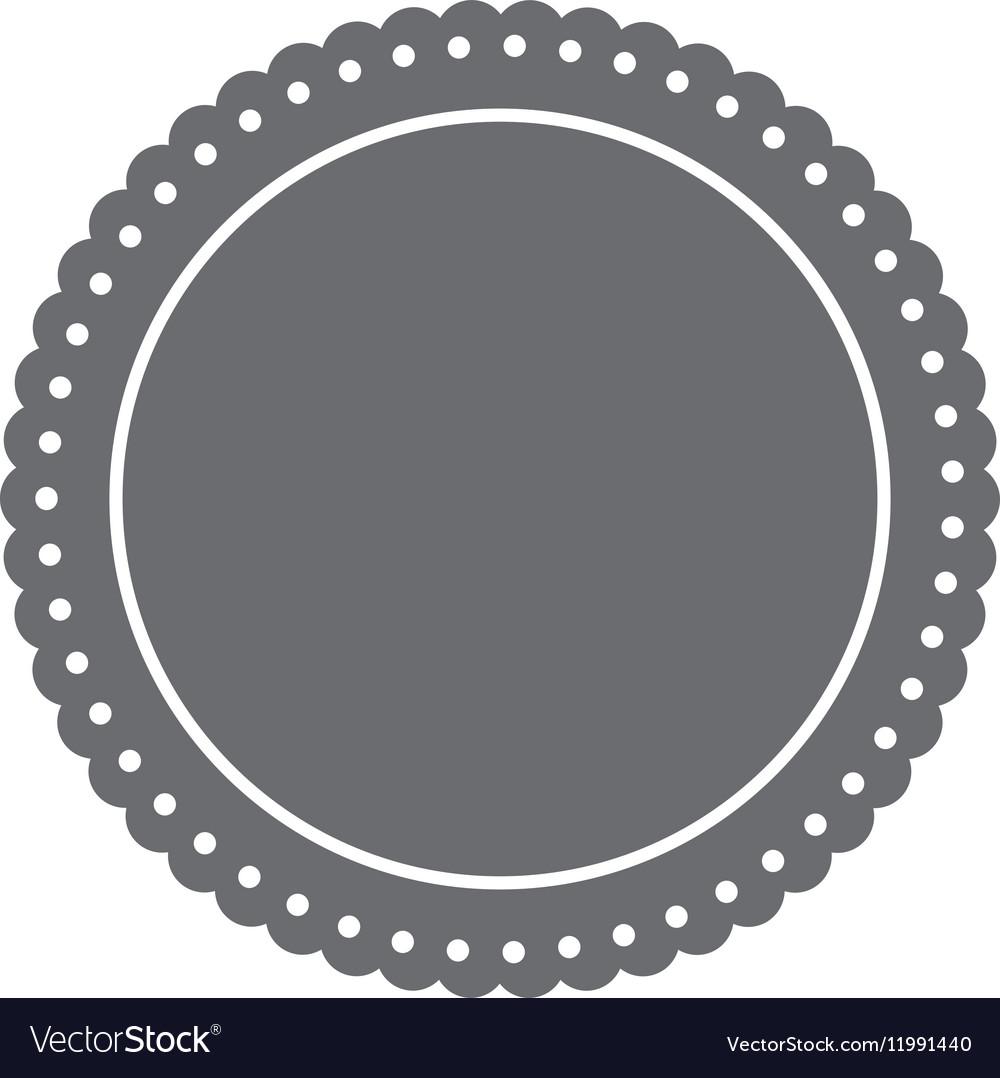 Round label insignia