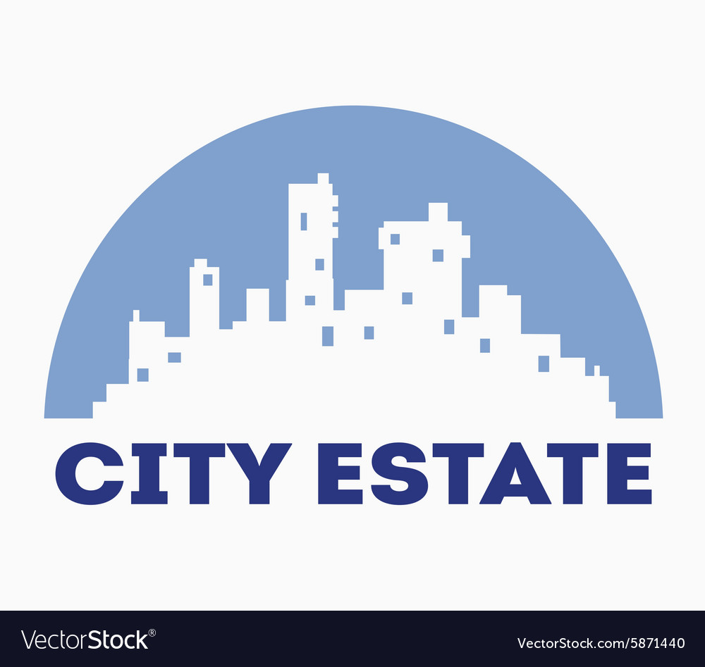 Urban real vector image