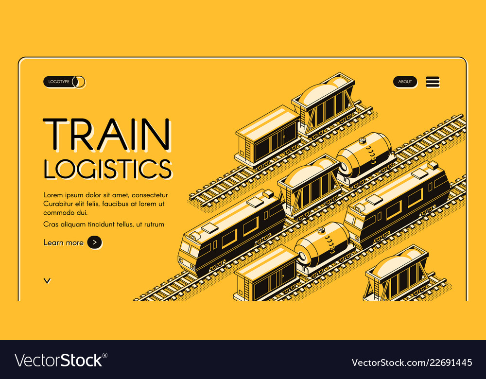 Railway freight transport company website