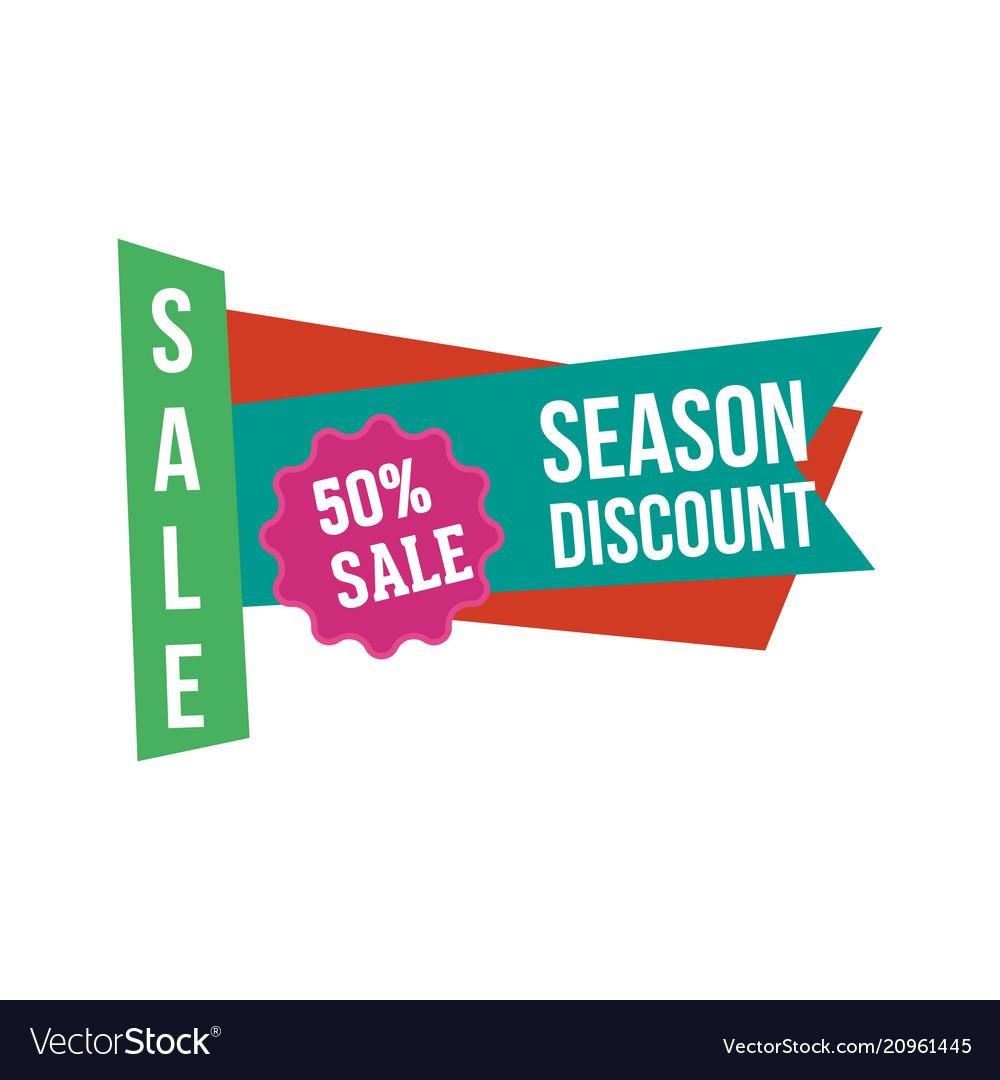 Sale discount logo
