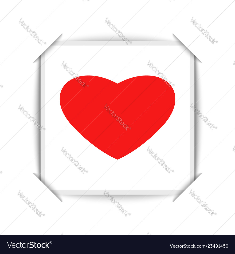 Happy valentine is day greeting card design is a