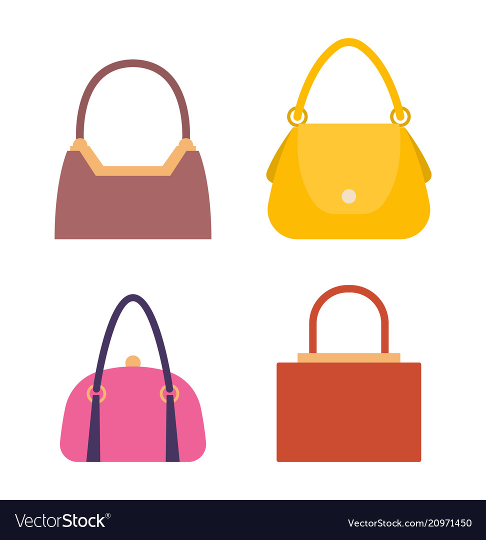 Leather Handbags Bags With Handles And Locks Set