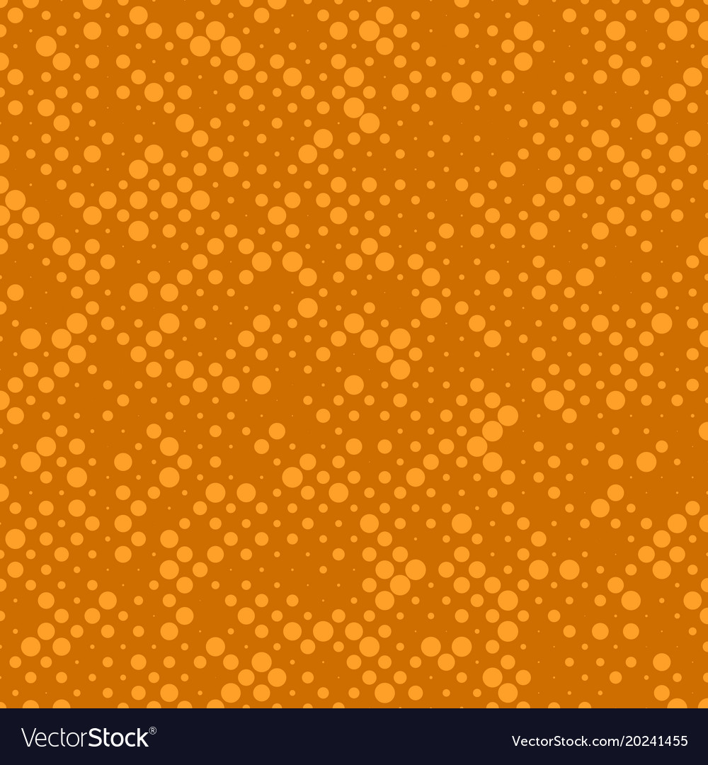 Abstract chaotic halftone circle pattern