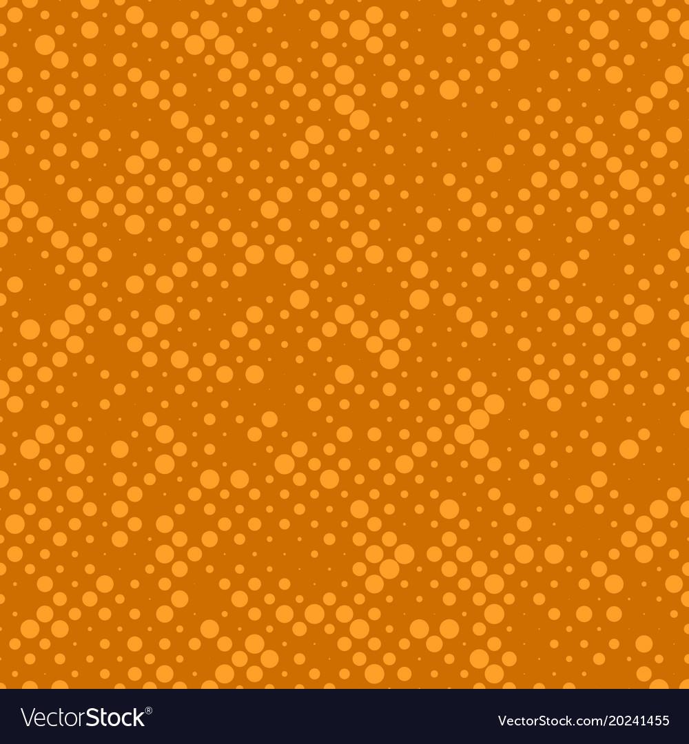 Abstract chaotic halftone circle pattern vector image